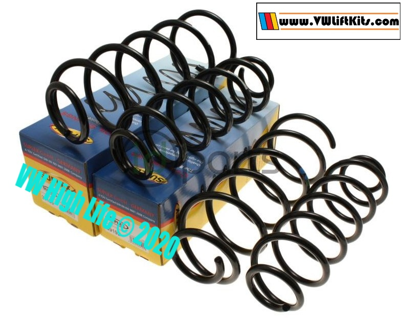 These super coils help lift the Sportwagen 2009-2014 & Jetta Wagon 2009-2010 & 2014 models..