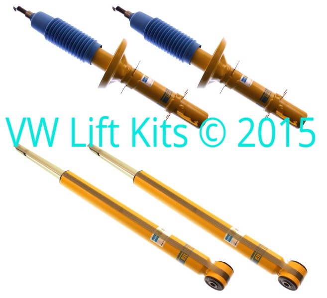 Bilstein Front Struts and Rear Shocks for VW Touaregs