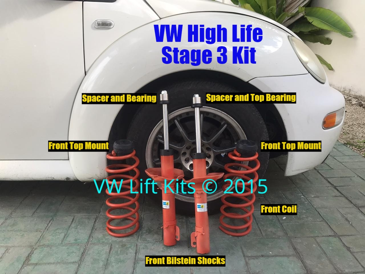 Stage 3 kit - 1999 VW New Beetle aka The Aloosh