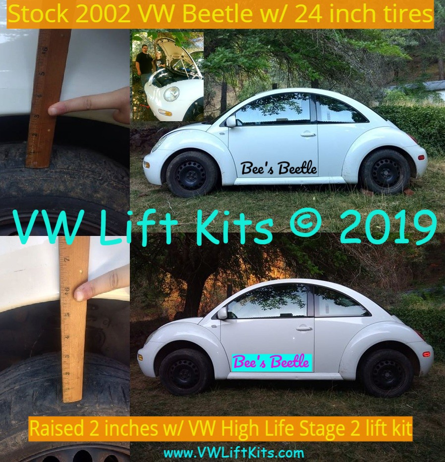 Showing the world how easy it is to install the VW High Life Lift Kits