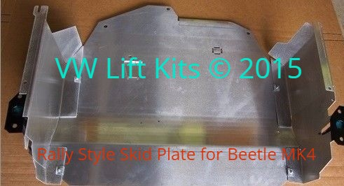 RALLY STYLE SKID PLATE W/ SIDE PROTECTION FOR VW GOLF AND JETTAS MK4