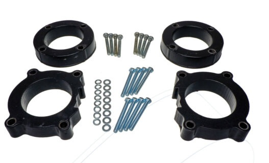 1.6 inch (40 mm) Lift Kit for VW Touareg T1 2002-2010.  Best Bolt On Lift Kit, no welding, no cutting, no drilling required.