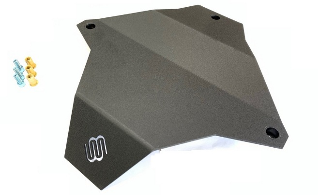 Rear Differential Skid Plate for 2002-2010 VW Touareg T1 Porsche Cayenne Audi Q7. Made in the USA.