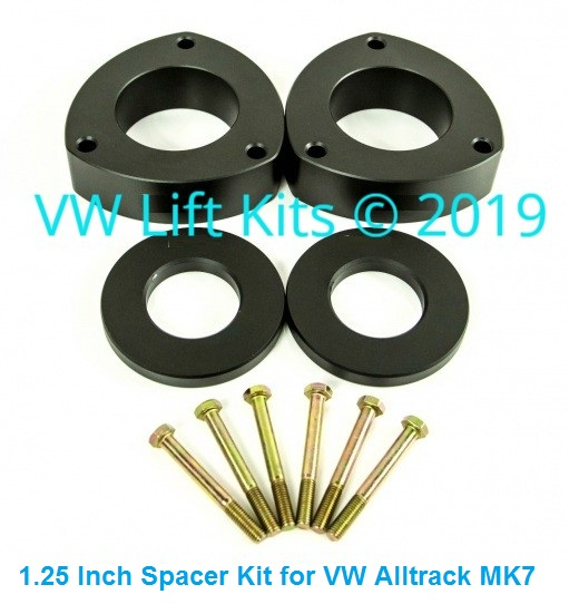 This kit will not affect the stock camber of your VW Alltrack.