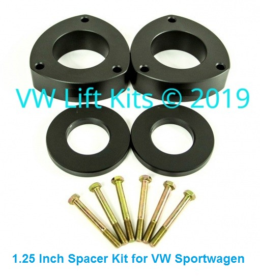 This kit will not affect the stock camber of your VW Sportwagen.